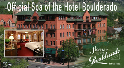 Official Spa of the Hotel Boulderado